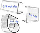 Pipe and Drape Skirt Clips