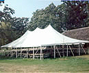 Rope and Pole event tent rentals