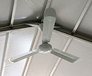 Ceiling fan rental for event tents