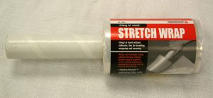 Stretch wrap with handle for sale.