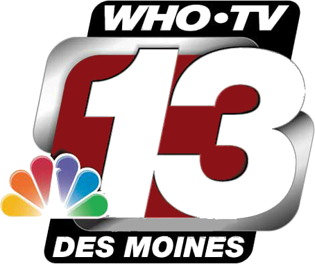 channel 13 news WHO TV in Des Moines-logo
