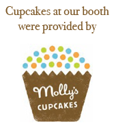 Cupcakes at Big Ten Rentals booth were provided by Molly's Cupcakes in Iowa City.