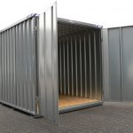 7' x 10' portable storage container rental Iowa City