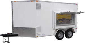 6 Tap, 30 Keg, Refrigerated draft beer trailer for rent