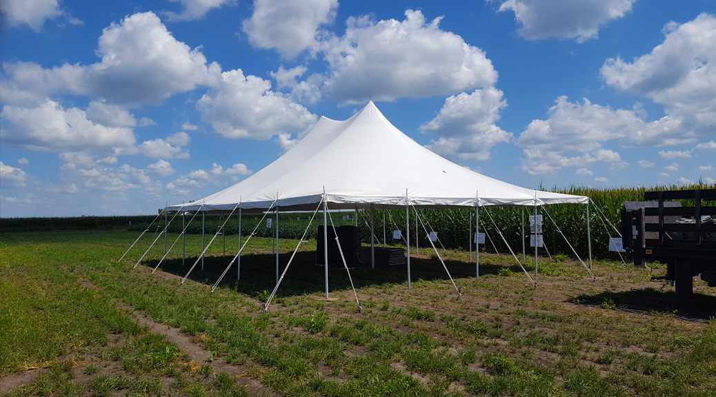 Corporate Event Tent for WinField® United Agriculture Solutions in Washington, Iowa header