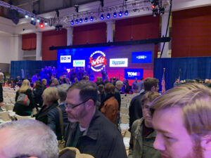 Crowd at Political Event for Teamsters Presidential Forum in December 7, 2019