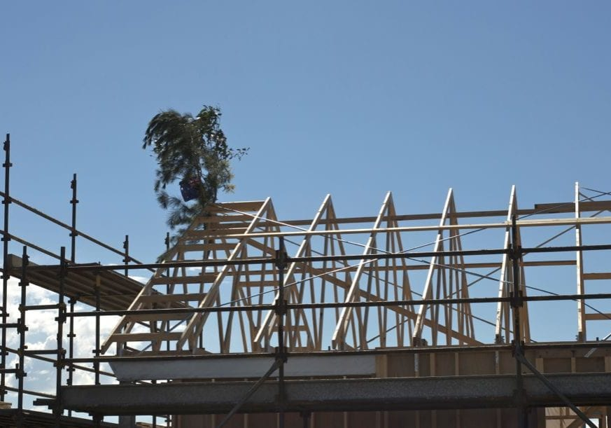 New-construction-roof-landscape