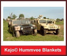 Kejo© Humvee Blanket kit