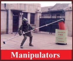 EOD Bomb Disposal Telescopic Manipulators