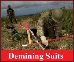 Kejo© Demining Suits and Protective Gear