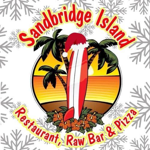Snowy Sandbridge Island Restaurant logo