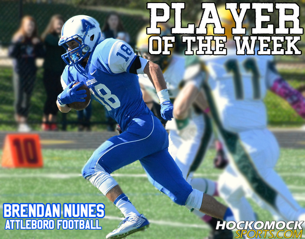 Player of the Week Brendan Nunes