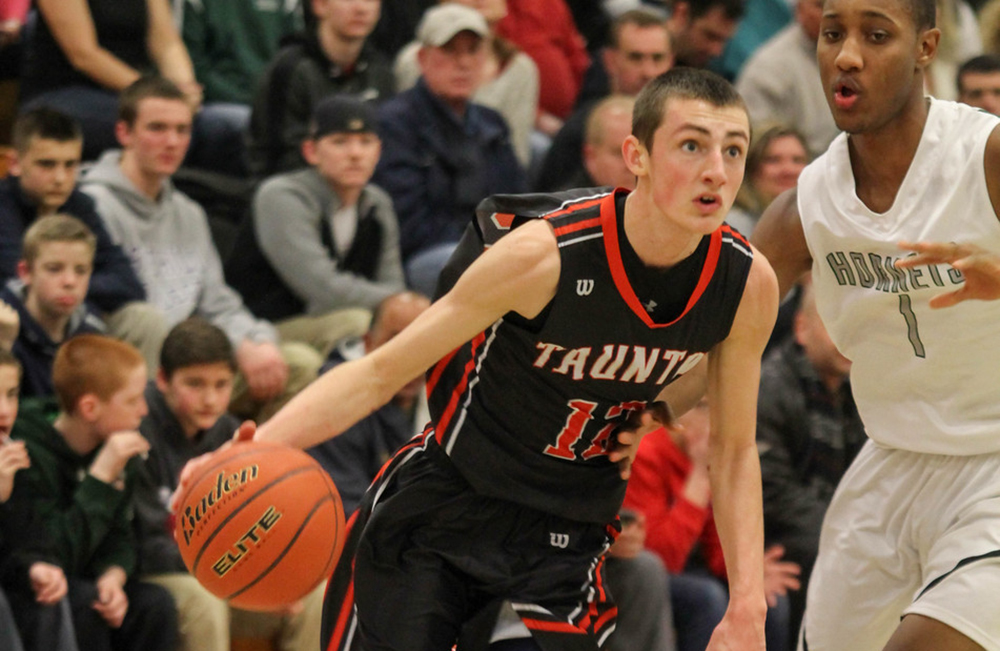 Taunton's Tommy MacLean (left) and Manfield's Nick Baskin will be two players to watch this season. (Tom Madigan/Photo)
