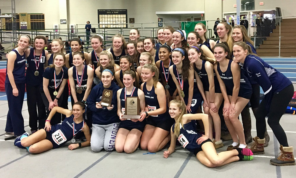 Hockomock League Indoor Track Championships 2017