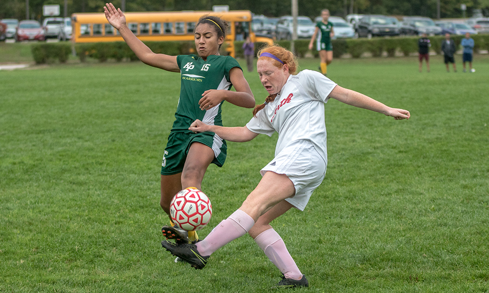 King Philip girls soccer