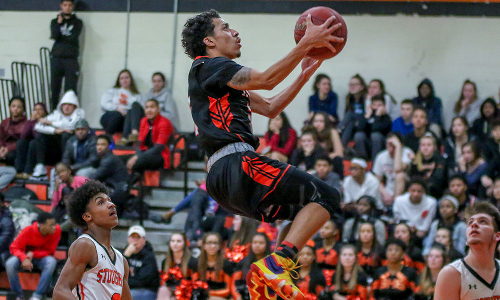 Taunton boys basketball Lou Vendrell