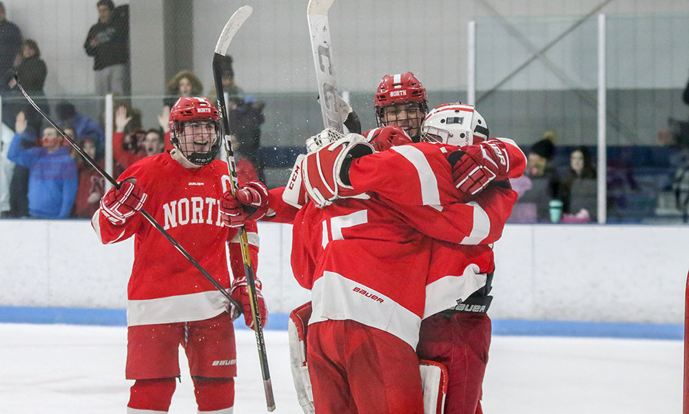 North Attleboro boys hockey Ryan Warren