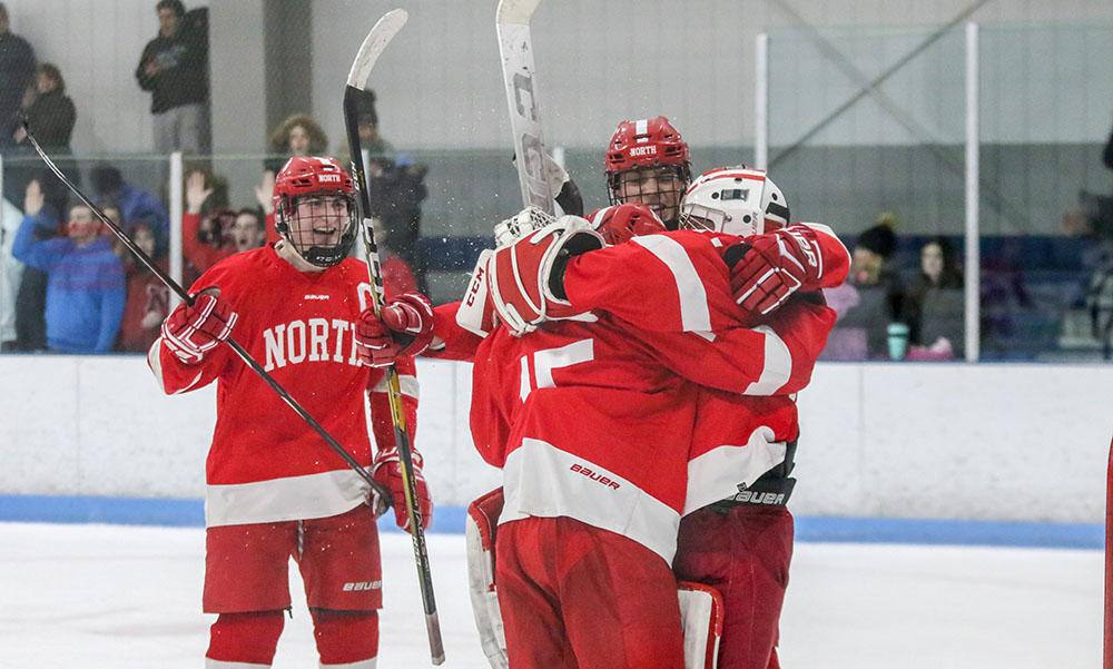 North Attleboro boys hockey Ryan Warren