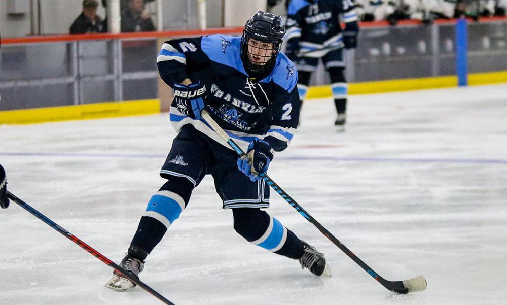 Franklin boys hockey Scott Elliott