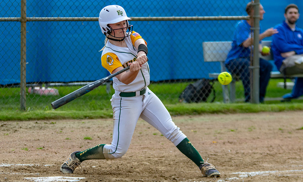 King Philip softball Meghan Gorman