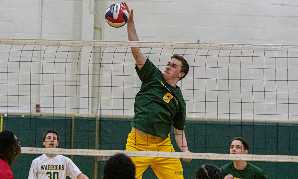 King Philip boys volleyball
