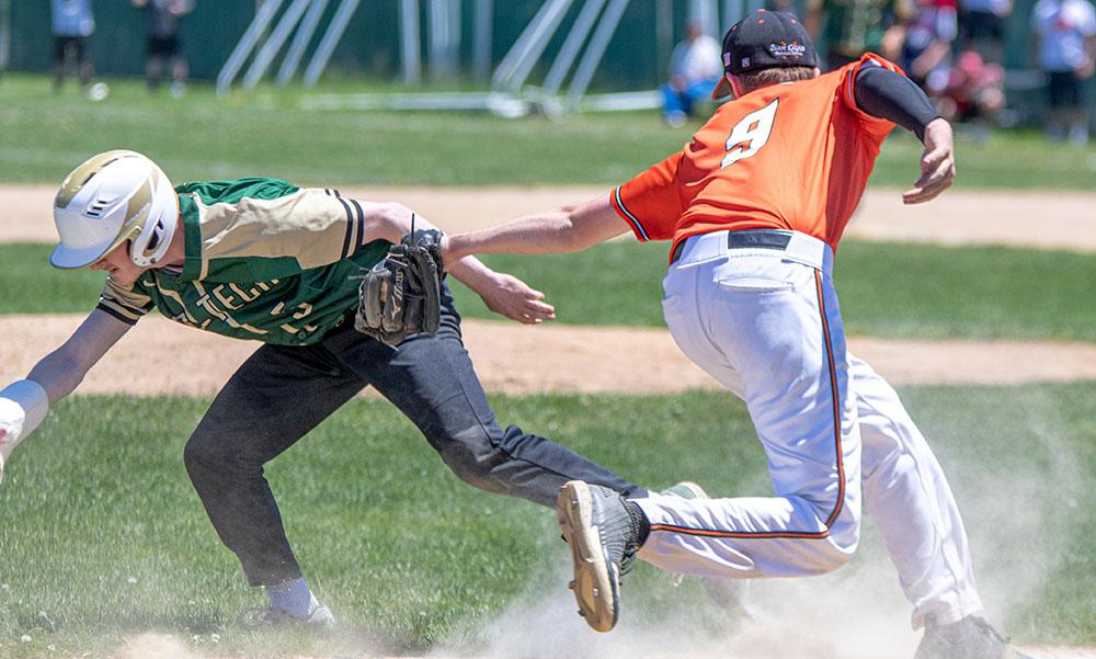 Stoughton baseball Brady Conlin