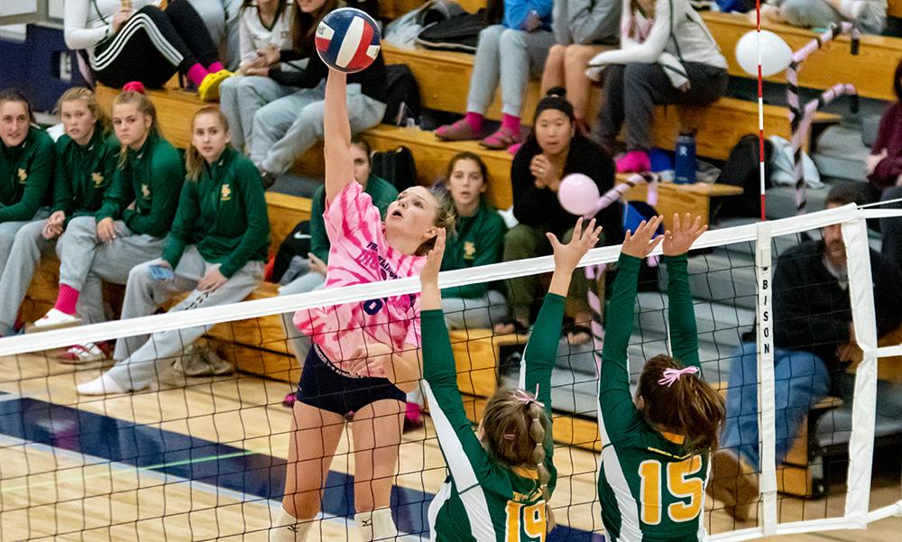 Franklin volleyball Allyson Bonnet-Eymard