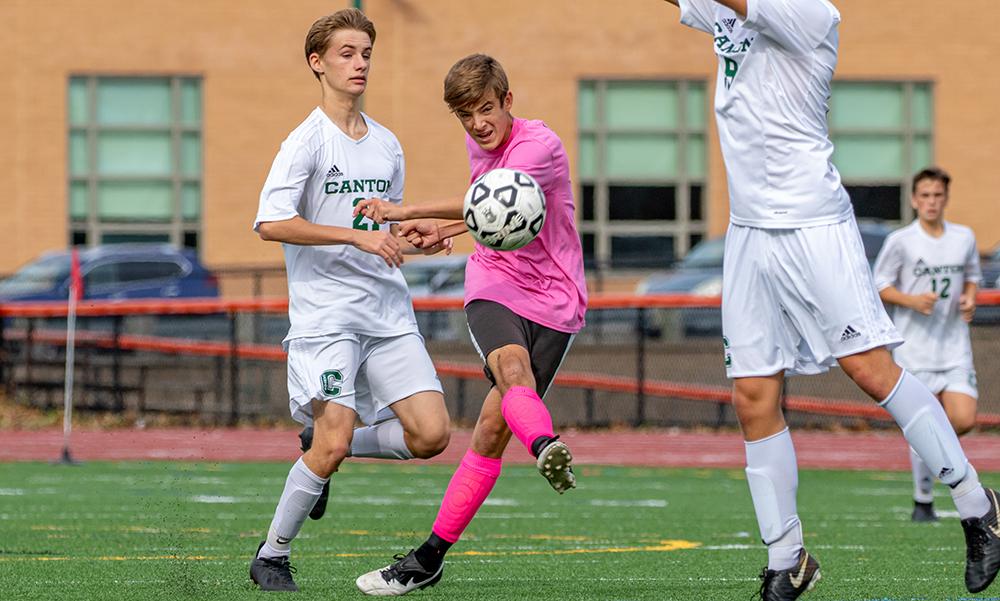 Oliver Ames boys soccer Colin Milliken