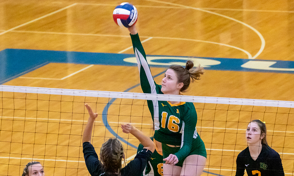 King Philip volleyball Catherine Waldeck