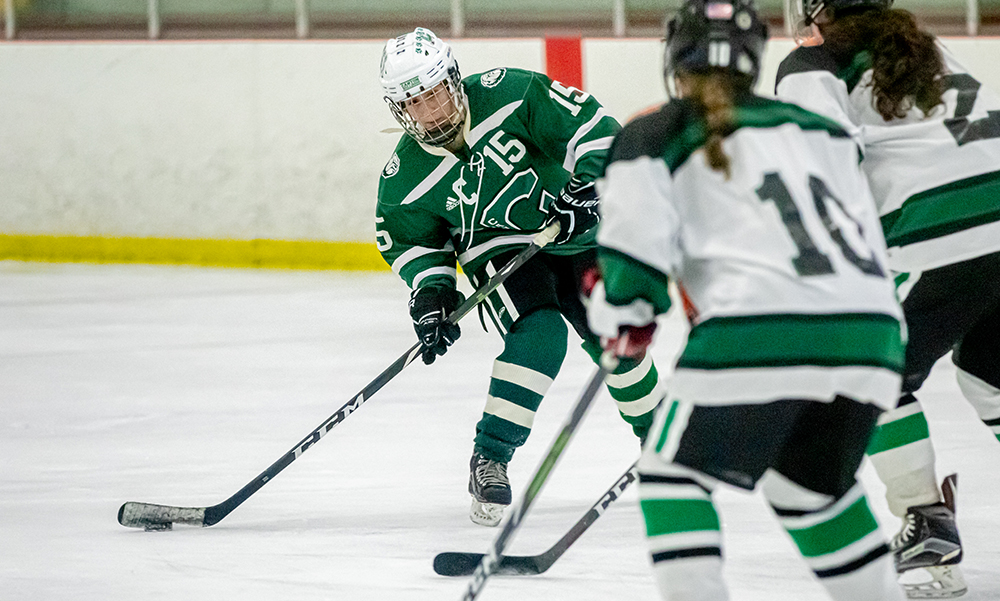 Canton girls hockey Maria Femia