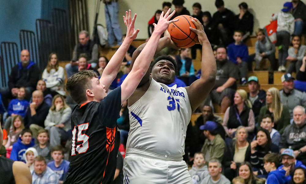 Attleboro boys basketball Qualeem Charles