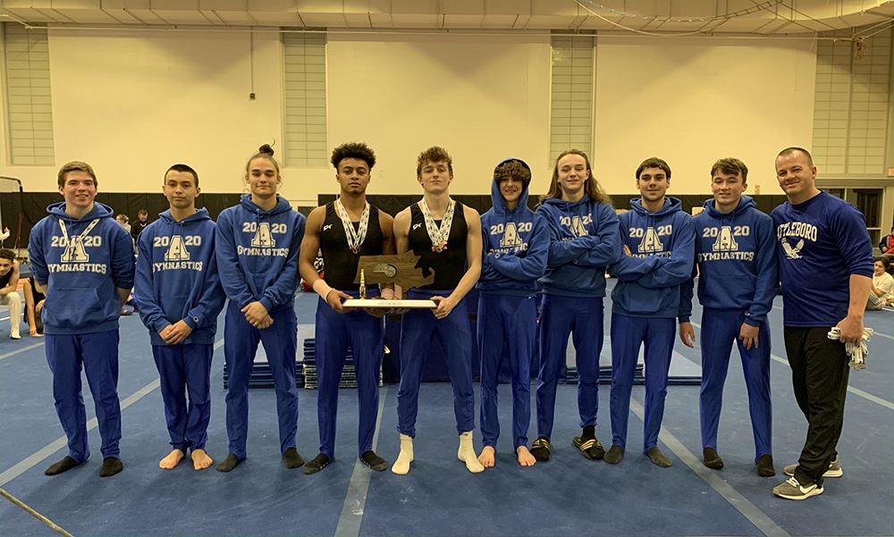 Attleboro boys gymnastics