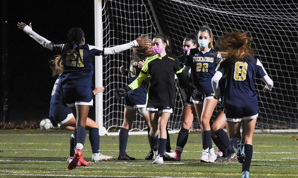 Foxboro girls soccer