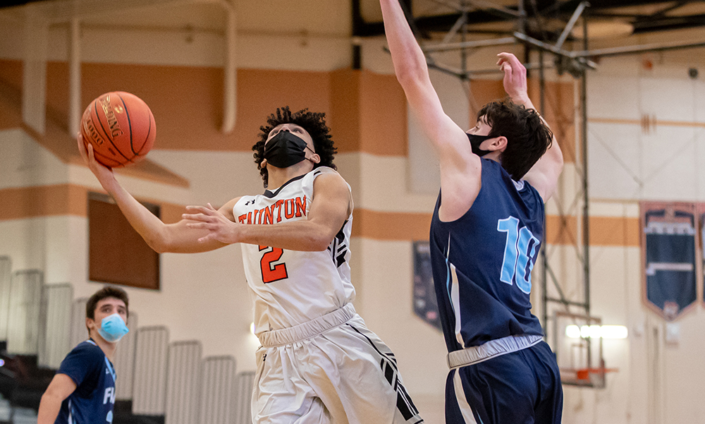 Taunton boys basketball Tristan Herry