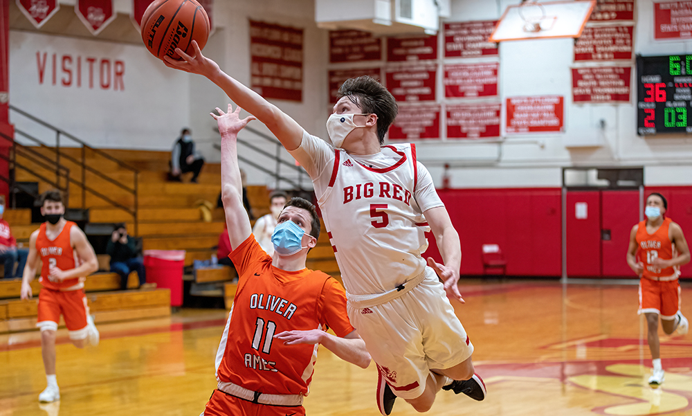 North Attleboro boys basketball Jason Rodriguez