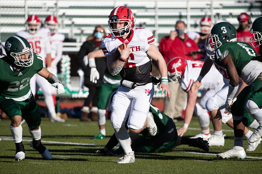 North Attleboro football Tyler DeMattio