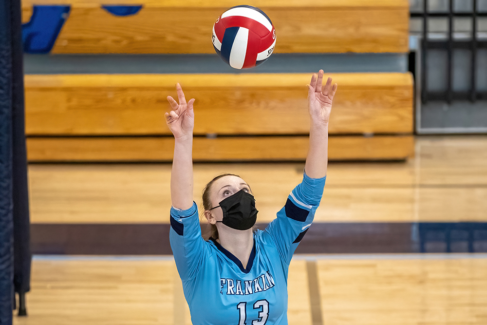 Franklin volleyball Cailyn Mackintosh