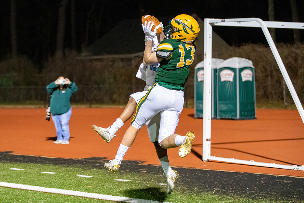King Philip football Danny Clancy