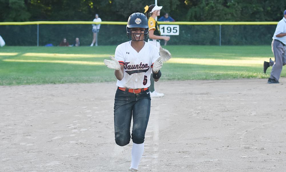 Taunton softball