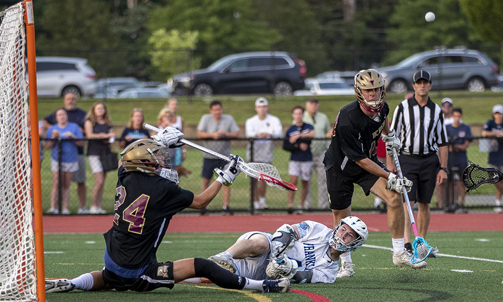 Franklin boys lacrosse Matt Lazzaro