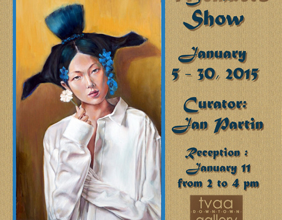 New Members Exhibition Entry Deadline, December 20, 2014 January 5 – 30, 2015 Reception, January 11, 2-4