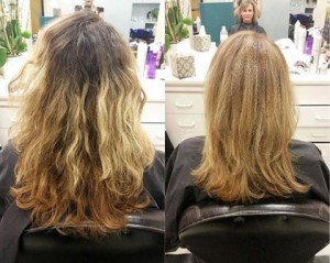 Blond Color Correction
