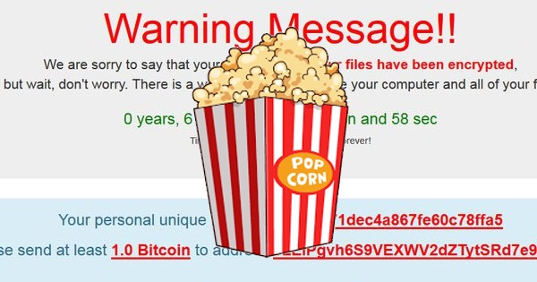 New Popcorn Ransomware Crosses The Line!