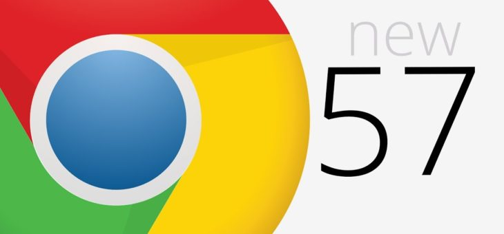 Google's New Chrome 57