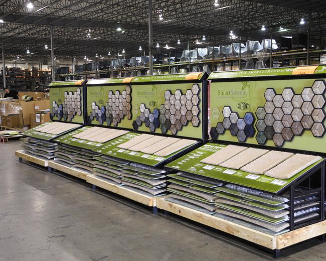Retail Carpet  Display