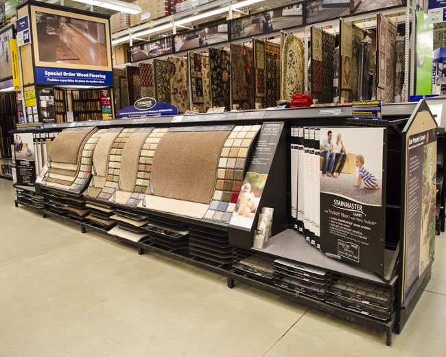 Flooring Display