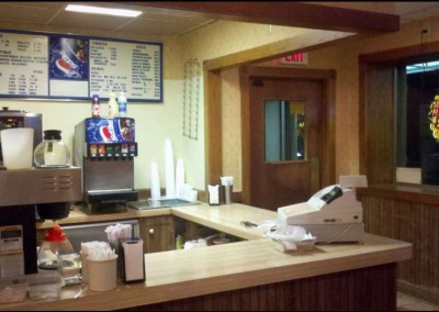 Counter at Jimmy's Grotto Waukesha