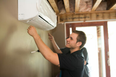 DUCTLESS HEATING & COOLING INSTALLATION