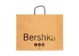 Shopping Bag with Cord Handles