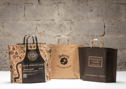 Shopping Bags with Flat Handles